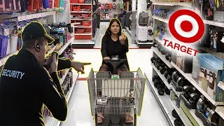 WE ALMOST GOT KICKED OUT OF TARGET... (OMG)