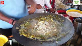 Green Egg Tikka Curry in Butter and Cheese || Yummy Egg Dish Recipe || Surat City Omelette