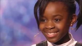 10 YEAR OLD GIRL SINGS BODAK YELLOW BY CARDI B ON BRITAINS GOT TALENT