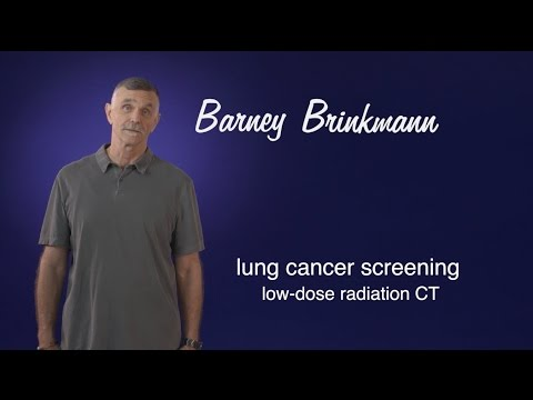 Barney Brinkmann: The mailer caught my eye. The CT screening caught my lung cancer. (Lung CT)