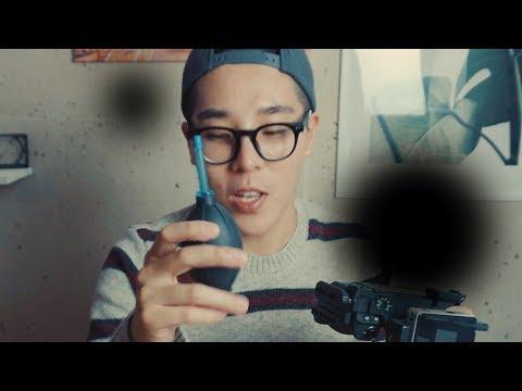 영상에 검은 점이 찍힌다면 | 카메라센서 청소하는 법