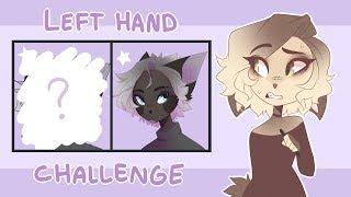 Left hand challenge - Speedpaint