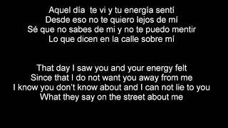X (equis)-Nicky Jam ft. J Balvin English & Spanish lyrics