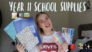 MY 2020 BACK TO SCHOOL HAUL & SUPPLIES! (YEAR 11)