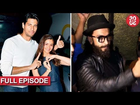 Sidharth Talks About His Link-Up With Alia | Ranveer Reveals How Aditya Stole His Girlfriend