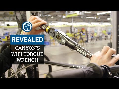 """Is This The World's Coolest Bike Tool"""" - Canyon's WiFi Torque Wrench"""