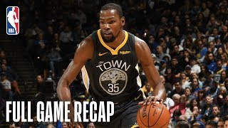 JAZZ vs WARRIORS | Golden State Turns It On Late | February 12, 2019