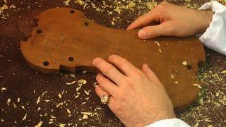 Stradivari's hands making the 'Lady Blunt' (violin on the PG form) - ストラディヴァリと当時の科学