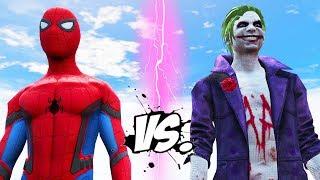 The Joker vs Spider-Man - Epic Superheroes War