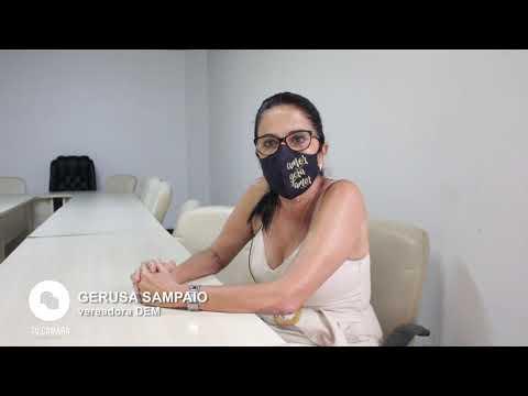 Entrevista com a vereadora Gerusa Sampaio