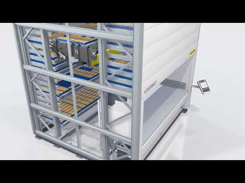 Lagerautomat med tilt-funktion