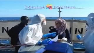 İtalya'da mülteciler felaketin eşiğinden döndü