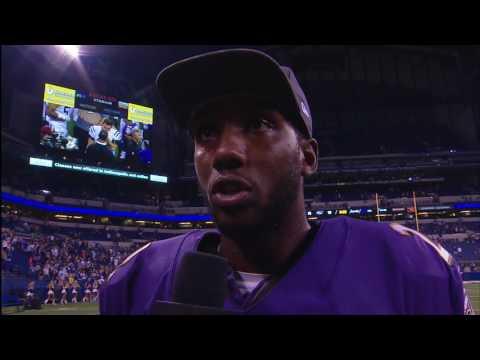Josh Johnson Reacts To Standout Performance | Walk-Off Interview | Baltimore Ravens