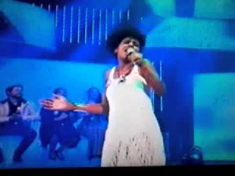 Rafaela Melo do The Voice Br no Caldeirão do Hulk
