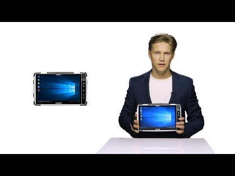 Handheld ALGIZ 10X rugged 10-inch tablet overview