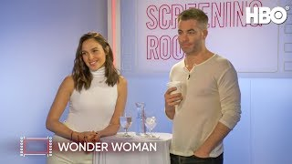 Gal Gadot & Chris Pine Talk Wonder Woman (2017 Movie)   HBO