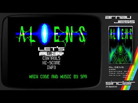 ALIENS Zx Spectrum by Syndrome (Russia)
