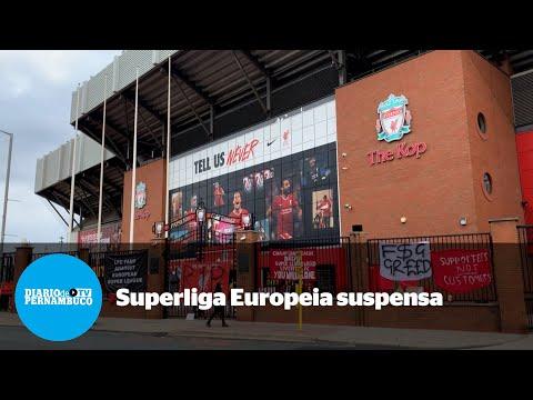 Após polêmicas, Superliga Europeia é suspensa