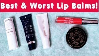 BEST & WORST Lip Balms - Lip Balms that Repair Your Lips!