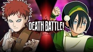 Gaara VS Toph (Naruto VS Avatar) | DEATH BATTLE!