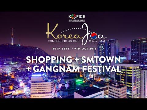 Shopping in Seoul + SMTOWN Coex + Gangnam Festival 2015 (VLOG 4)