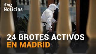 Los CONTAGIOS en MADRID siguen AUMENTANDO y preocupa la RESIDENCIA de San Martín de La Vega | RTVE