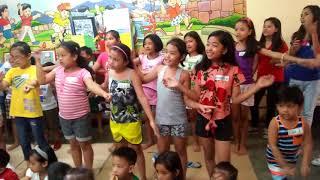 Jesus Christ King of All Kids Ministry - Team Joy dancing Salvation Poem