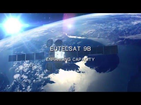 EUTELSAT 9B satellite at 9° East