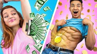 Rich vs Broke Student Awkward Moments!