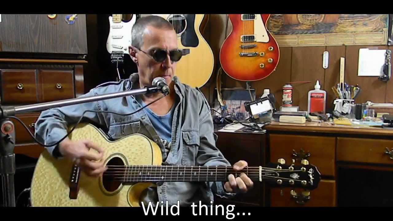 wild thing with lyrics chords jimi hendrix acoustic guitar cover beginner guitar lessons. Black Bedroom Furniture Sets. Home Design Ideas