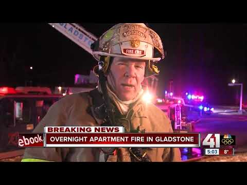 Fire forces evacuations at Gladstone apartment complex