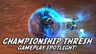 Championship Thresh Gameplay - New Skin Spotlight (LoL / League of Legends)
