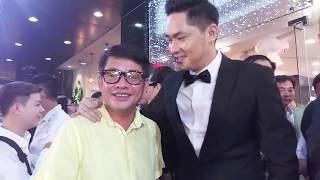 Bắt gặp Tấn Beo và Quang Lê đi xem phim Lộ Mặt của Minh Luân