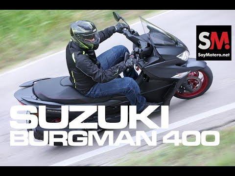 Suzuki Burgman 400 2017: Prueba Scooter [FULLHD]
