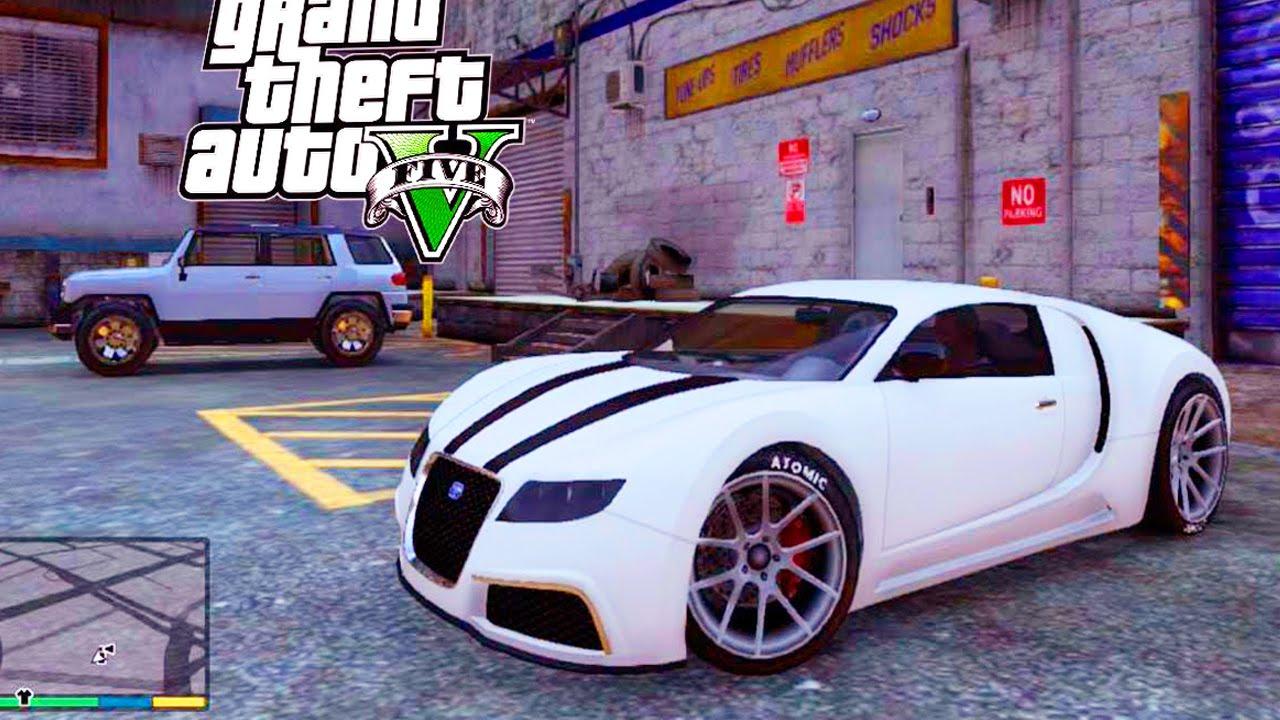 Grand Theft Auto V - Customizing Truffade Adder Super ...