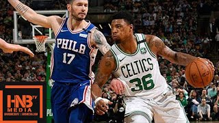 Boston Celtics vs Philadelphia Sixers Full Game Highlights / Game 2 / 2018 NBA Playoffs