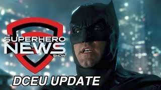 Superhero News: The Batman is still in the DCEU!