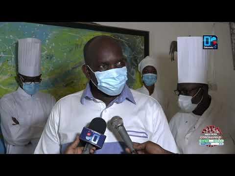Covid 19 : Geste de solidarité des chefs cuisiniers du Sénégal au profit des agents policiers