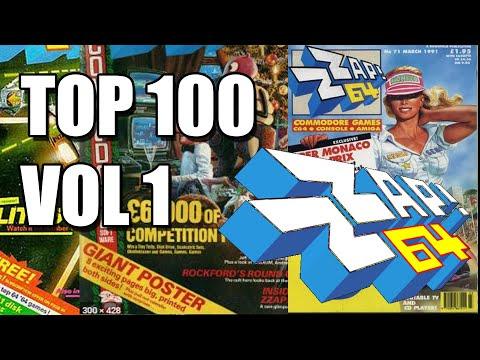 TOP 100 ZZAP 64 COMMODORE VOL 1