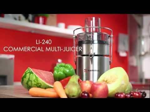 LI-240 Commercial Multi juicer