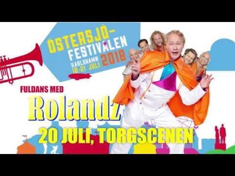 Rolandz på Östersjöfestivalen 20 juli 2018