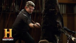 Forged in Fire: The Legendary Sword of Saladin SLAYS the Final Round (Season 8) | History