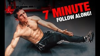 Intense Ab Workout | 7 Minutes (FOLLOW ALONG!)
