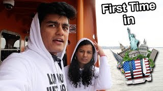 When a Desi Goes To USA For The First Time (Vlog)