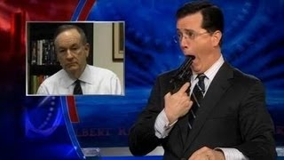 Stephen Colbert Pissed Off Bill O'Reilly (on O'Reilly's show!) Unedited Version
