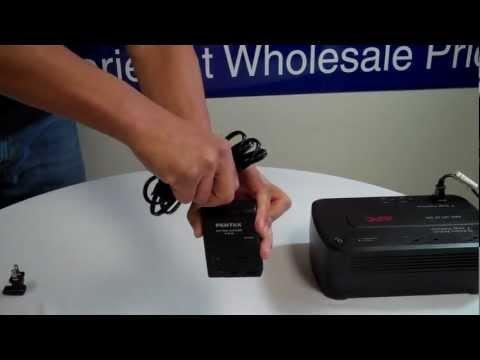 2 Prong Power Adapter, US C7 receptacle to NEMA 1-15P