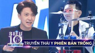 Ngô Kiến Huy hát live Truyền Thái Y cho siêu nhí đệm trống cực sung | Siêu Tài Năng Nhí Tập 7