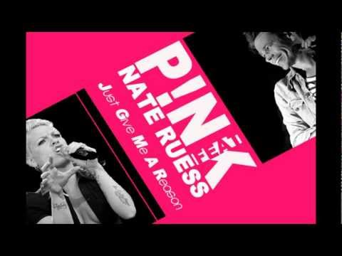 Baixar PINK FEAT NATE RUESS - JUST GIVE ME A REASON (LYRICS)