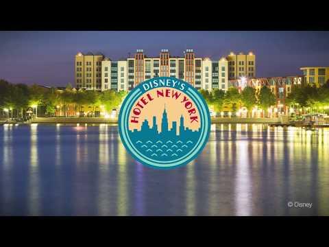 Bo på Disneyland® Paris temahotell Disney's Hotel New York®