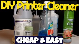 Robb Reviews DIY Inkjet print head cleaner,simple,cheap,effective